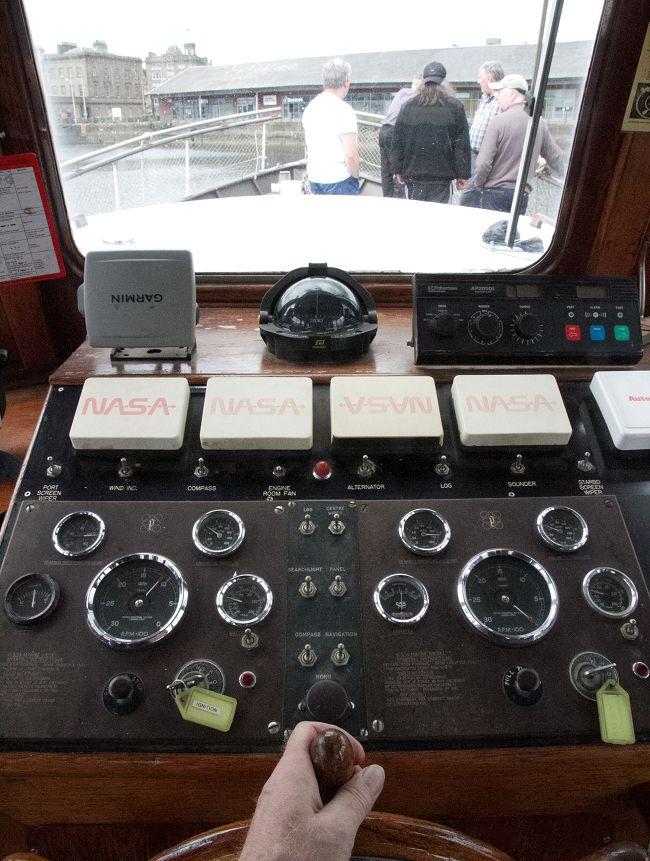 Training on Marigot - Boathandling training in Victoria Dock 4
